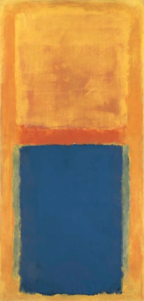 Homage to Matisse, (1954) by Mark Rothko