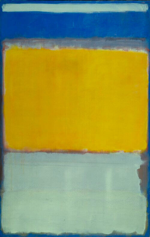 Number 10, (1950) by Mark Rothko