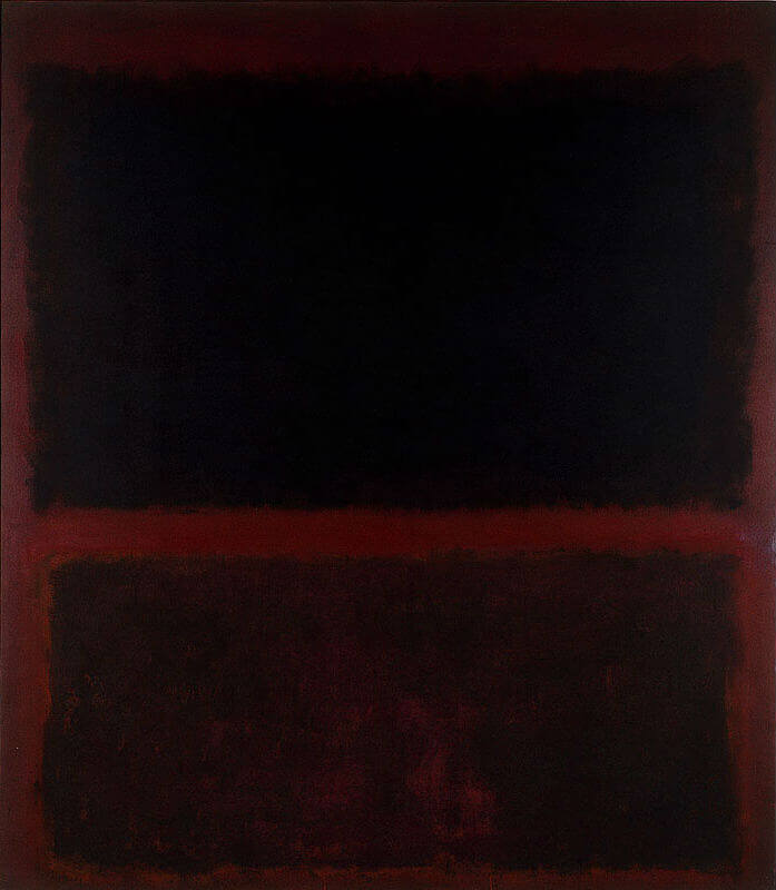Number 10, (1960) by Mark Rothko