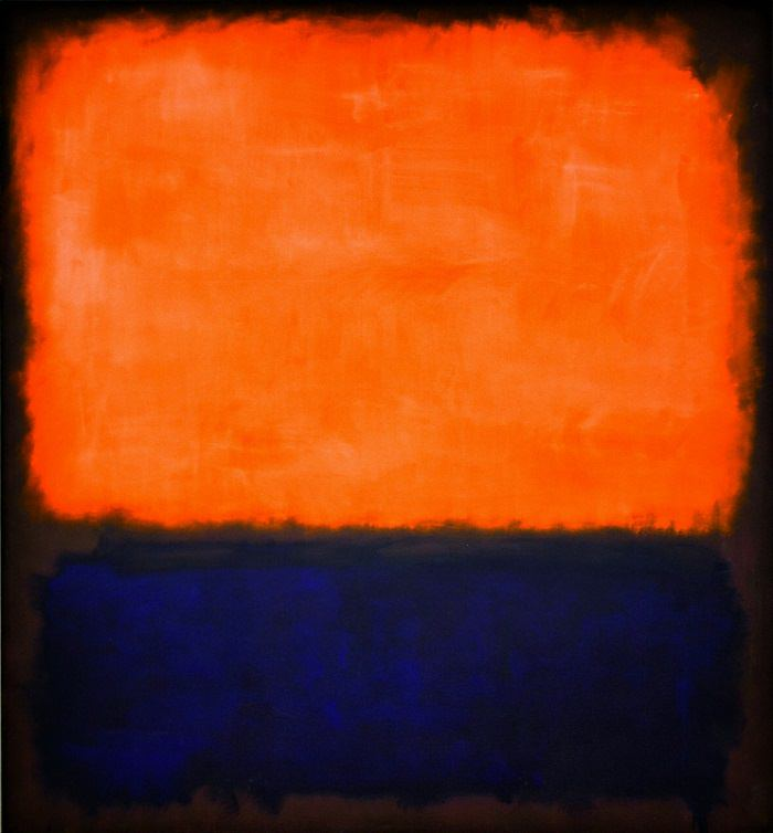Number 14, (1960) by Mark Rothko