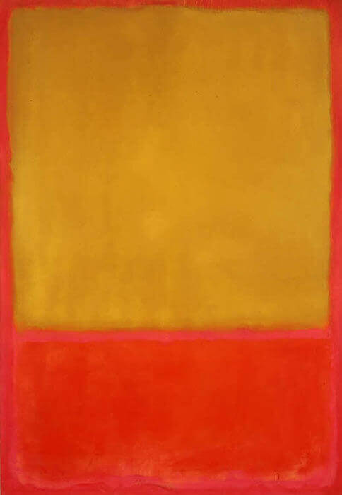 Ochre and Red on Red, (1954) by Mark Rothko