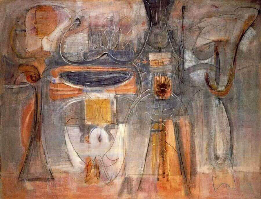 Rites of Lilith,1945 by Mark Rothko