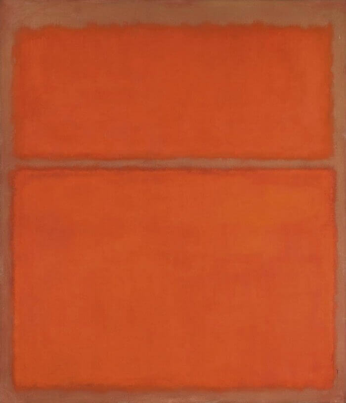 Untitled 1961 (1961) by Mark Rothko