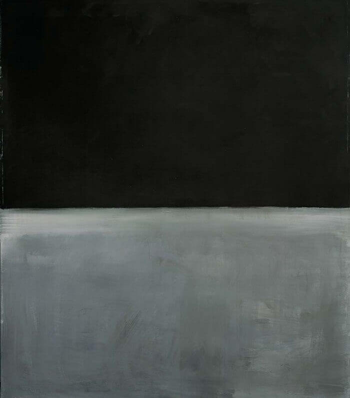 Untitled, Black on Gray, 1969 by Mark Rothko