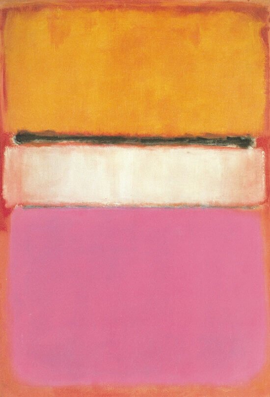 White Center (1950) by Mark Rothko